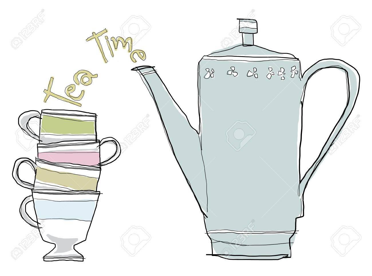 teapot set - 14196481