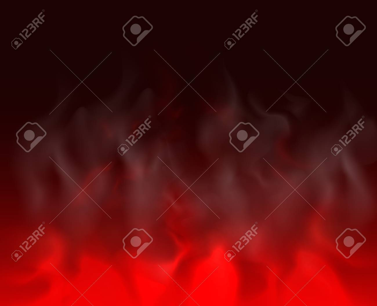 red Cloud and smoke on black backgrounds abstract unusual illustration - 49902678