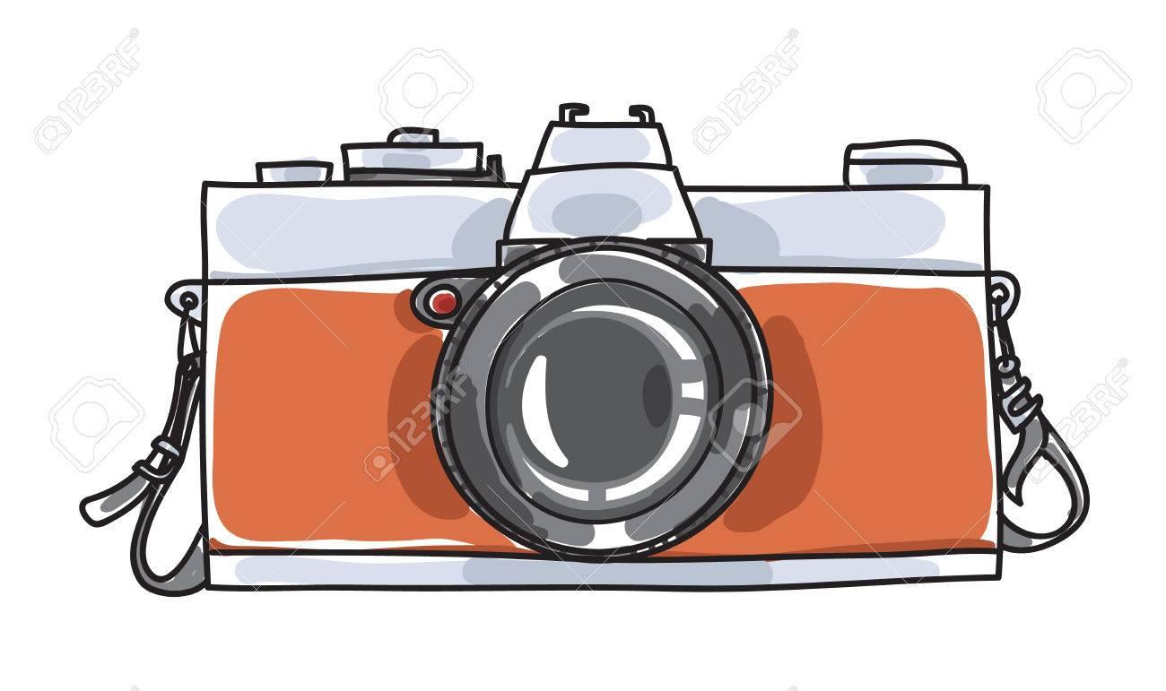 Get Vintage Camera Images Cartoon Background