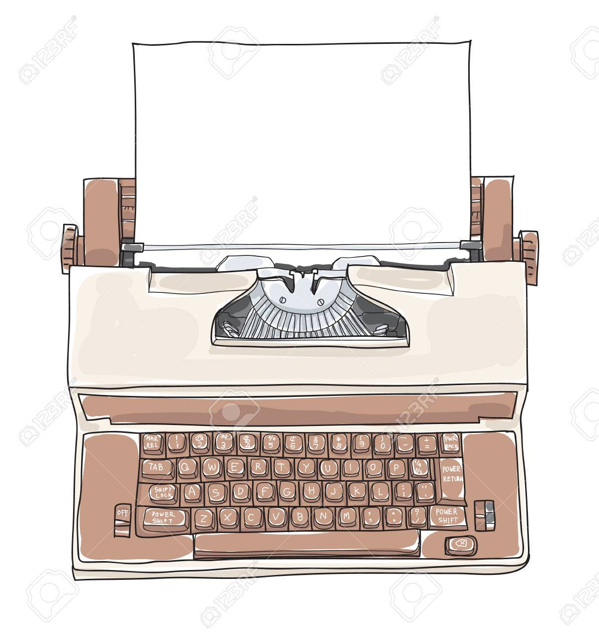 Image result for old typewriter clipart