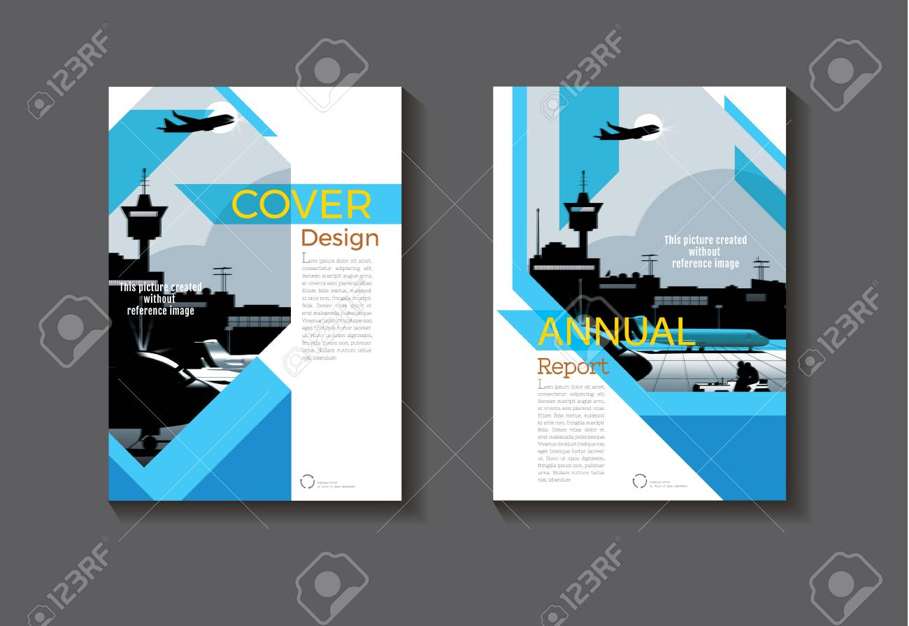 Book Cover Designing Free ~ Blue abstract cover design modern book cover abstract brochure