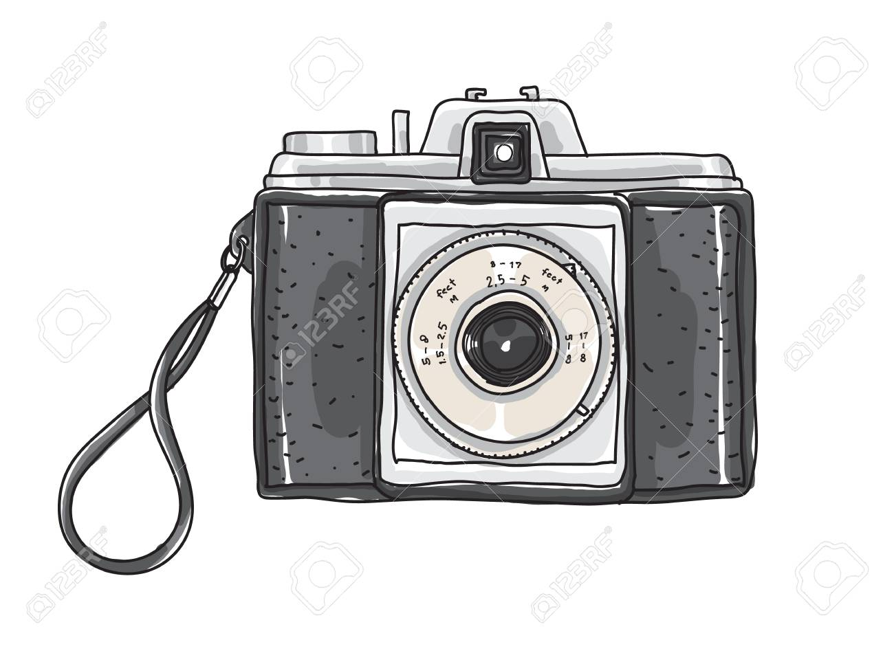 Camera Vintage Vector Png : Vintage camera logo vector: vintage 35mm film camera retro style