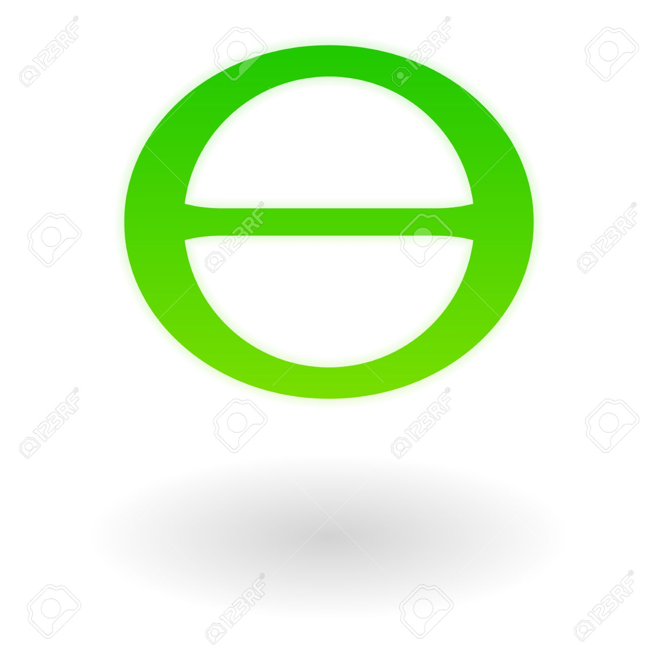 The green greek letter theta earth day symbol royalty free the green greek letter theta earth day symbol stock vector 53970207 biocorpaavc Image collections