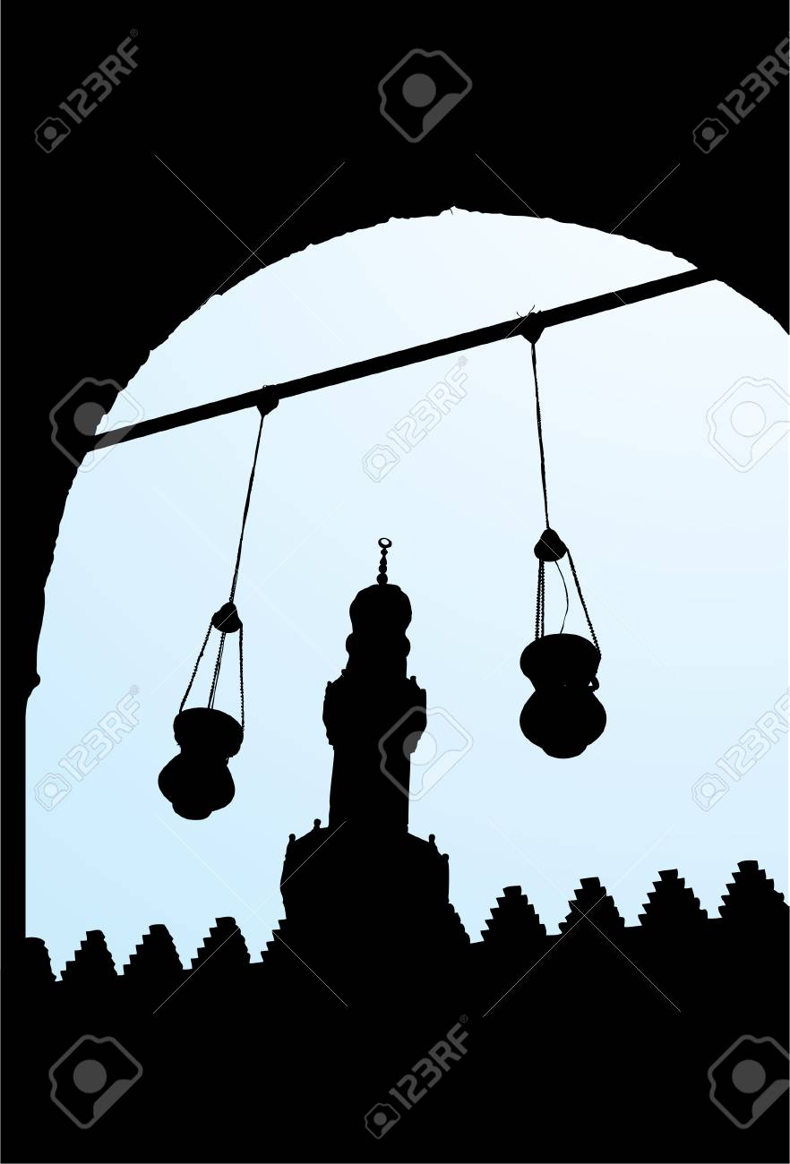 Salah El Din Castle 2 Stock Vector - 2687910
