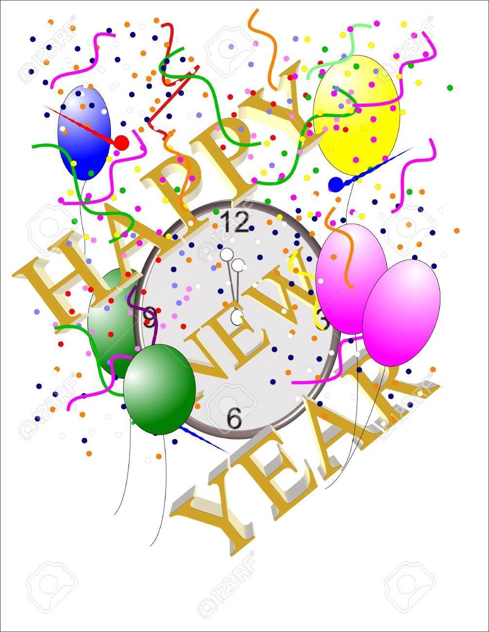 happy new year  generic form Stock Photo - 7068034