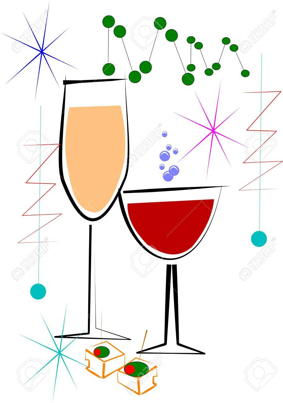 wine and cheese Stock Vector - 10685046