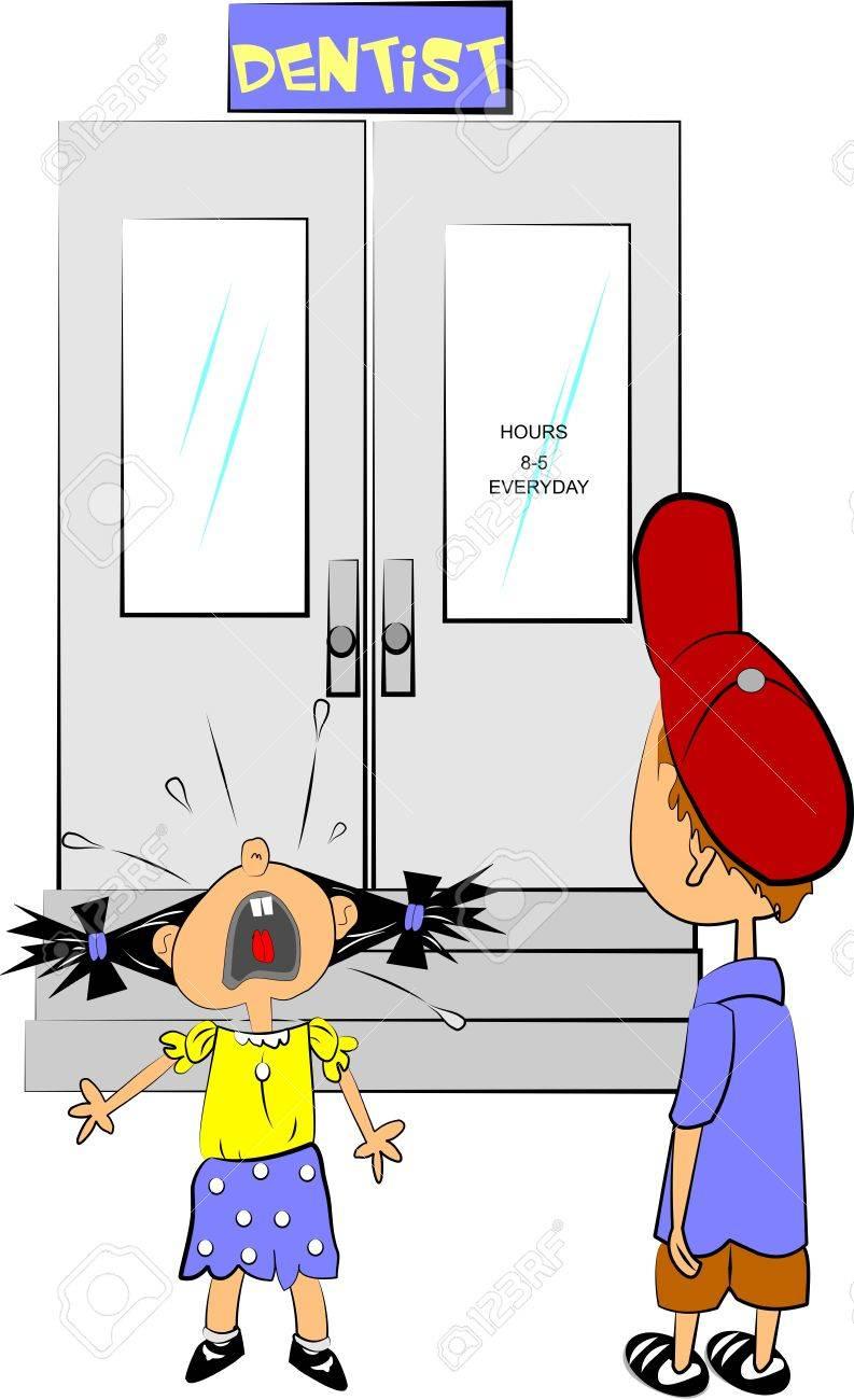 dentist visit Stock Vector - 12489571