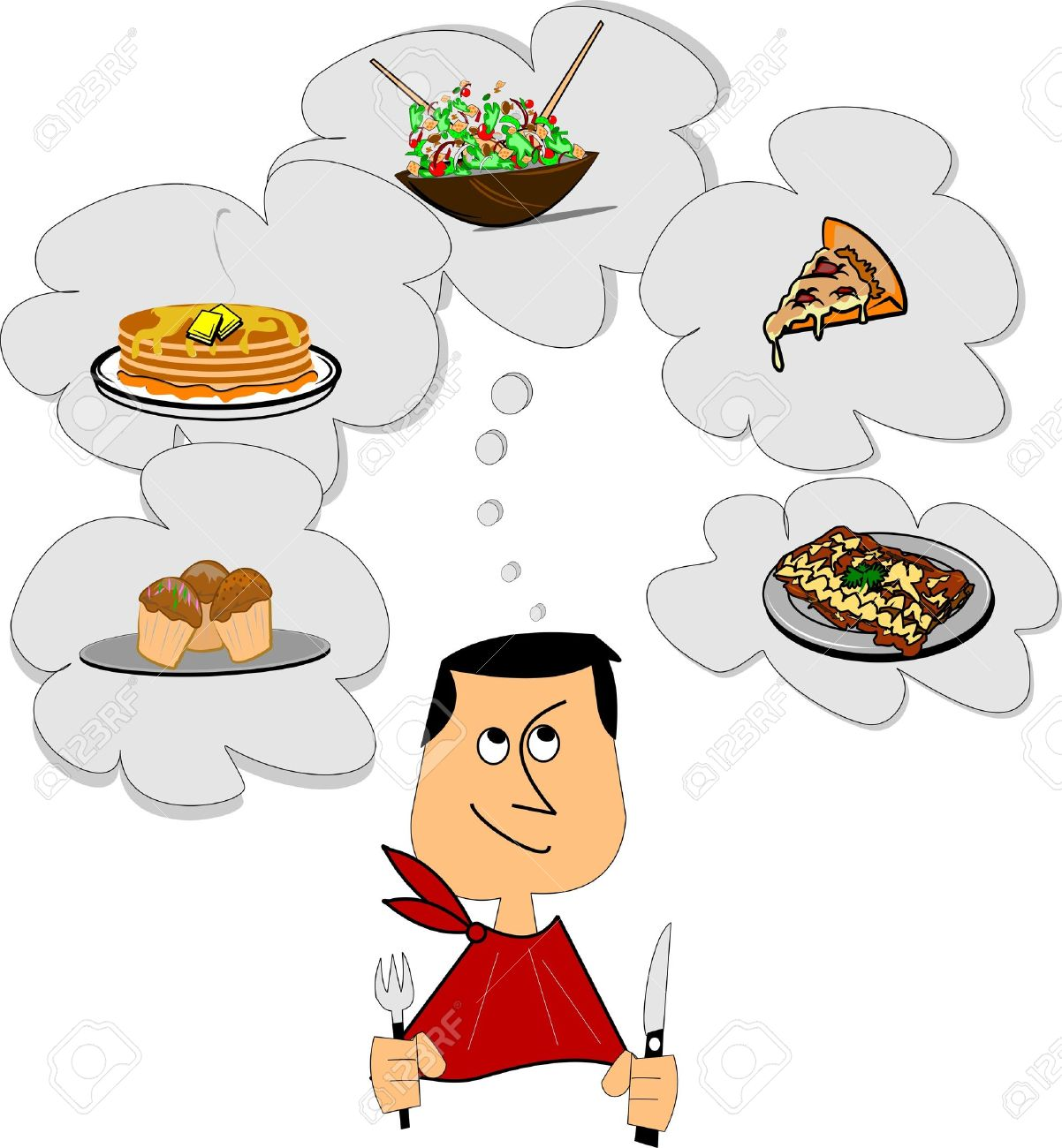 Image result for thinking food about