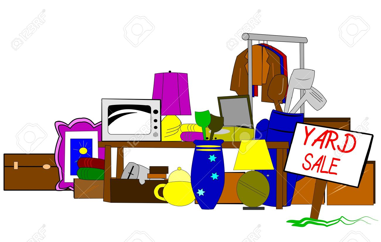 yard sale clipart royalty free cliparts vectors and stock rh 123rf com