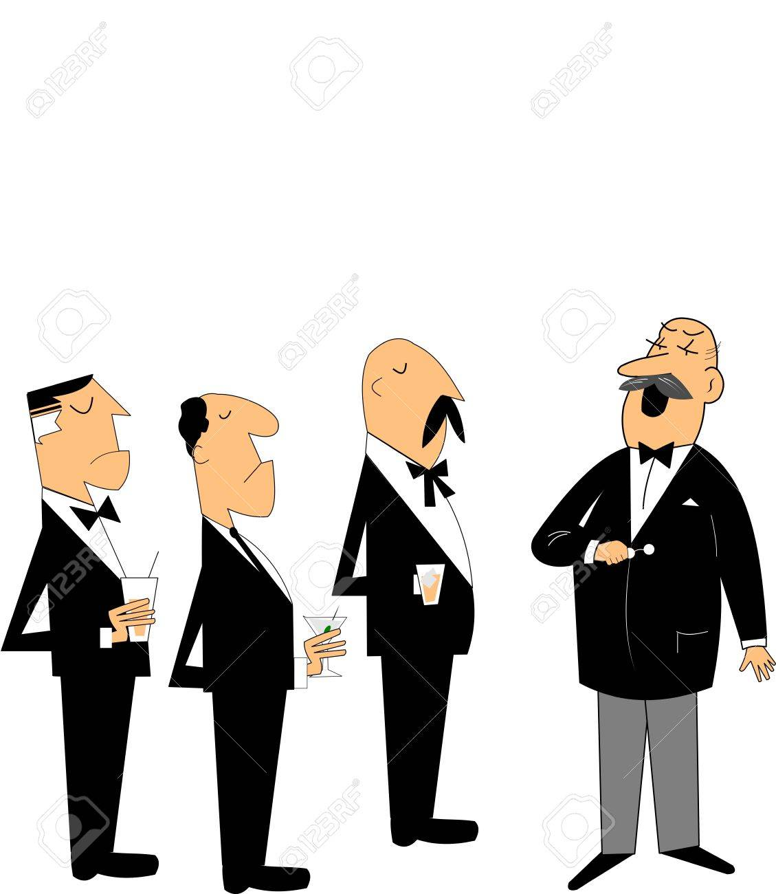 meeting of policy makers Stock Vector - 15255320