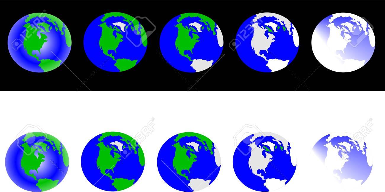 global warming snap shot Stock Vector - 16481248