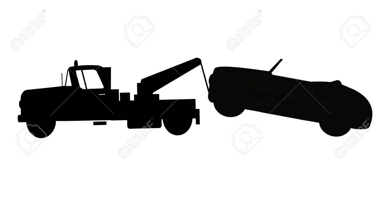 Clipart Tow Truck Towing A Car Clipartfest Truck And Tow ~ appos.us