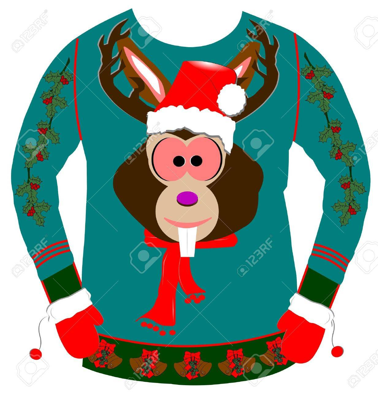 80eaa68db ugly christmas sweater Stock Photo - 38014860