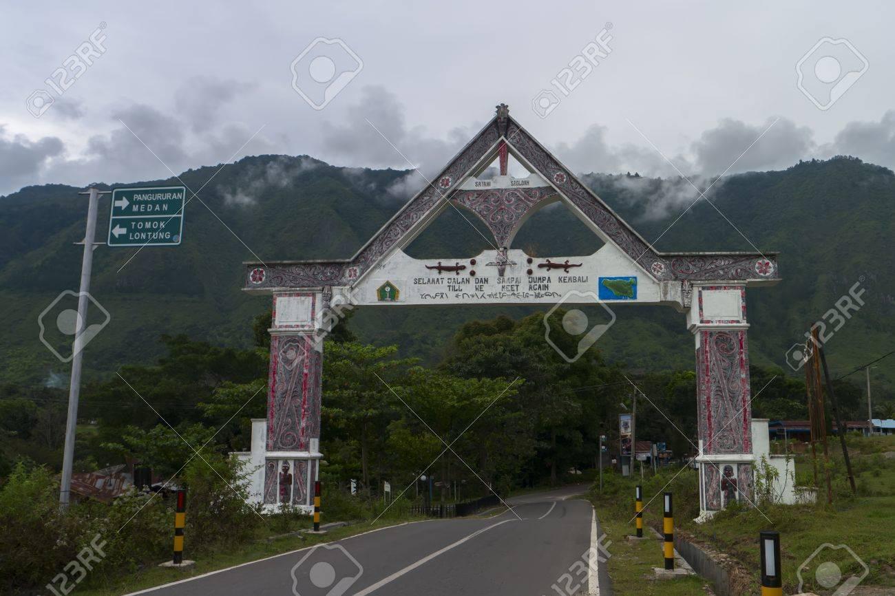 インドネシア北スマトラ州トバ湖...