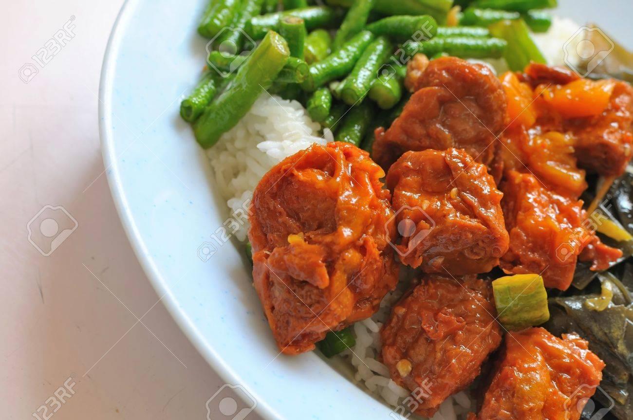 Sumptuous Chinesische Vegetarische Mock Huhn Küche Suchen. Geeignet ...