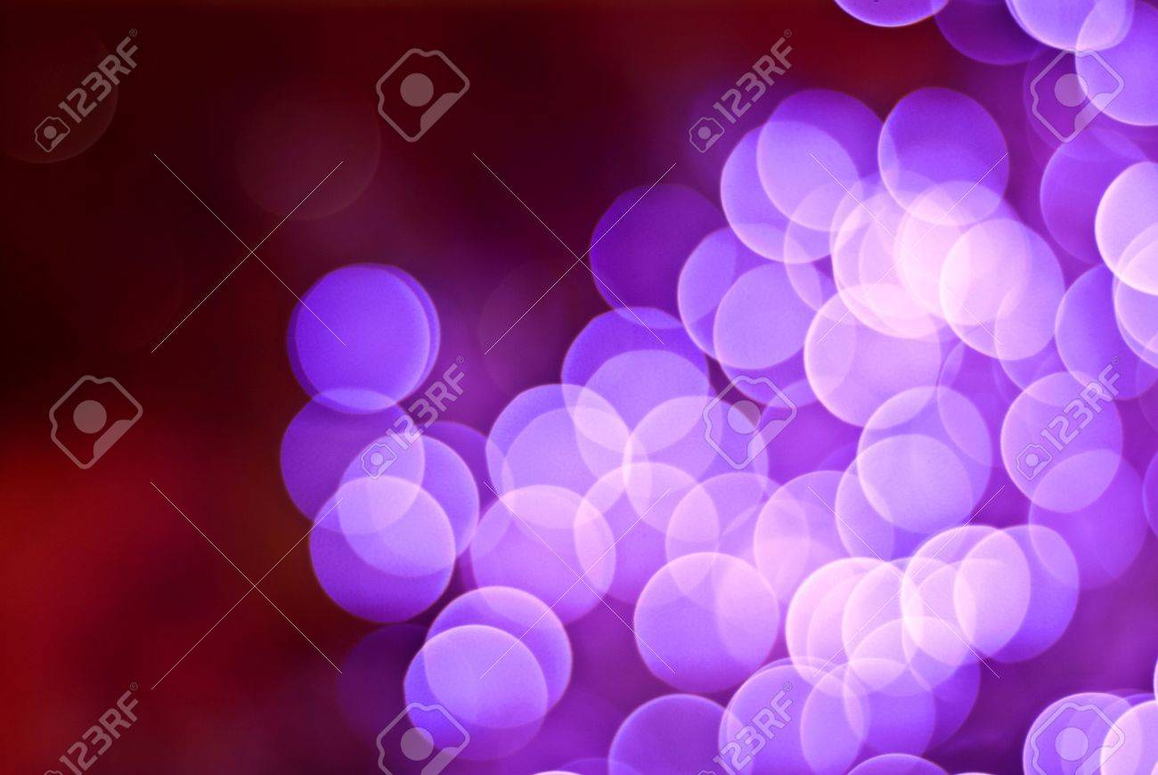 Colourful defocused lights on dark background Stock Photo - 8135577