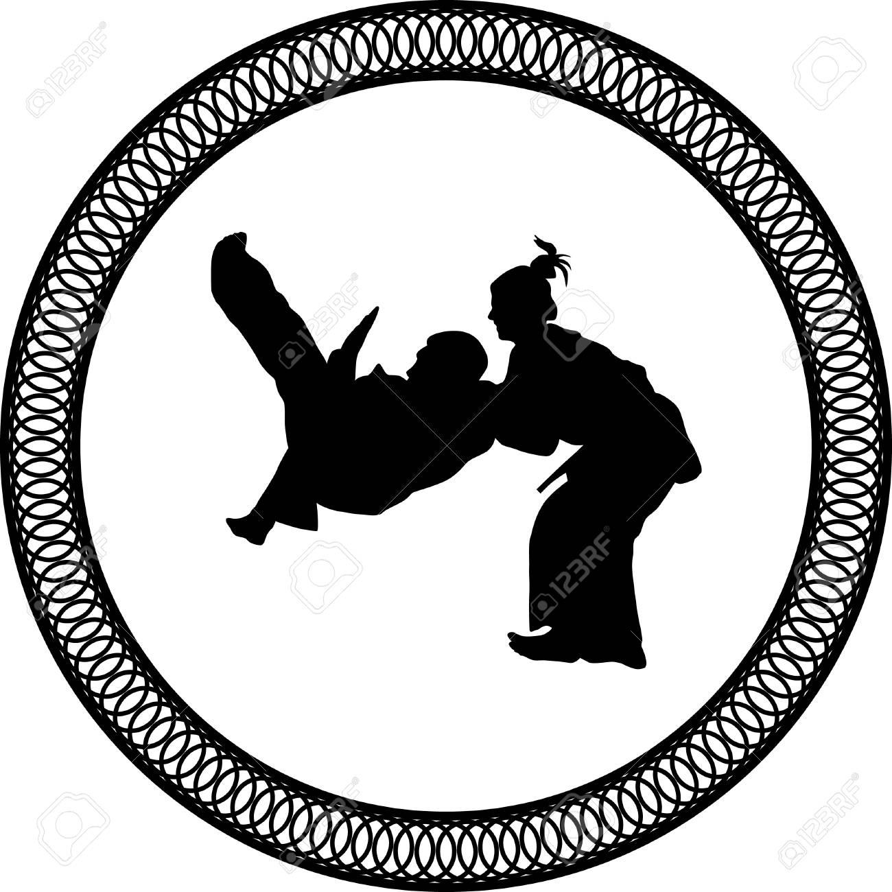 judo martial art royalty free cliparts vectors and stock rh 123rf com
