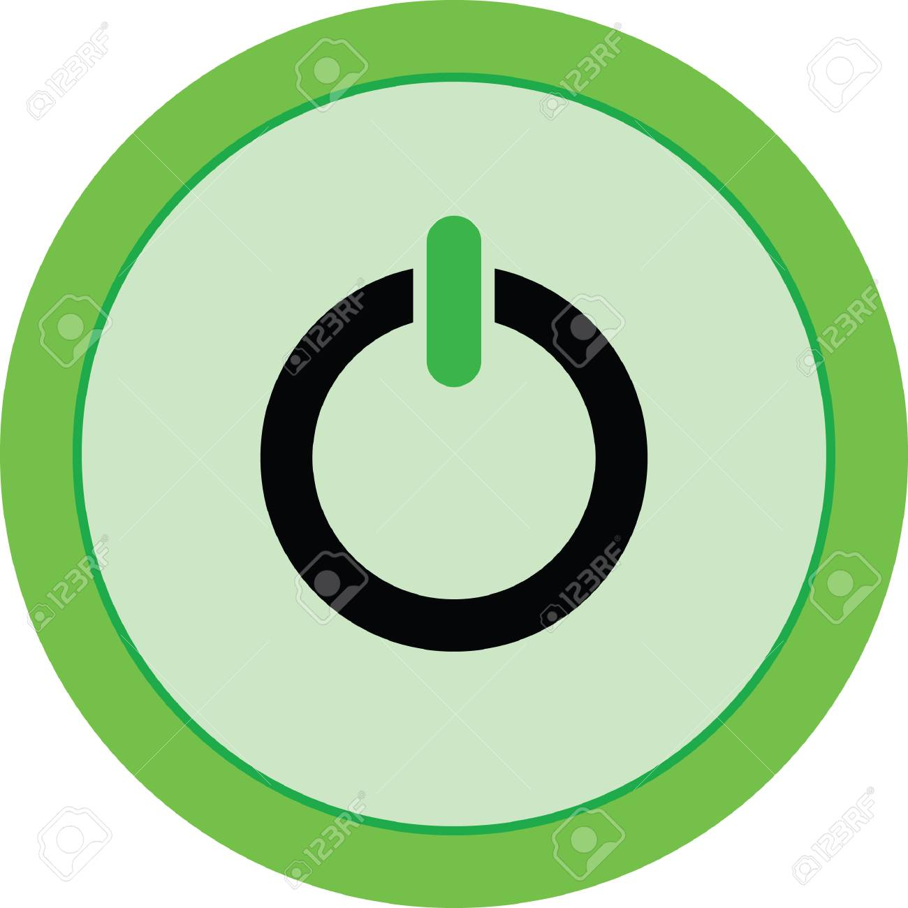 power button vector icon rh 123rf com power button vector graphic power button vector art