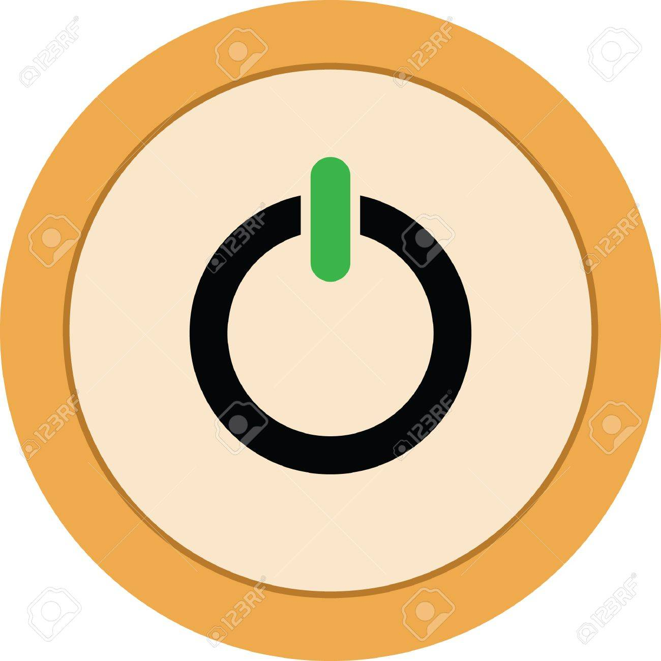 power button vector icon royalty free cliparts vectors and stock rh 123rf com power button vector download power button vector graphic