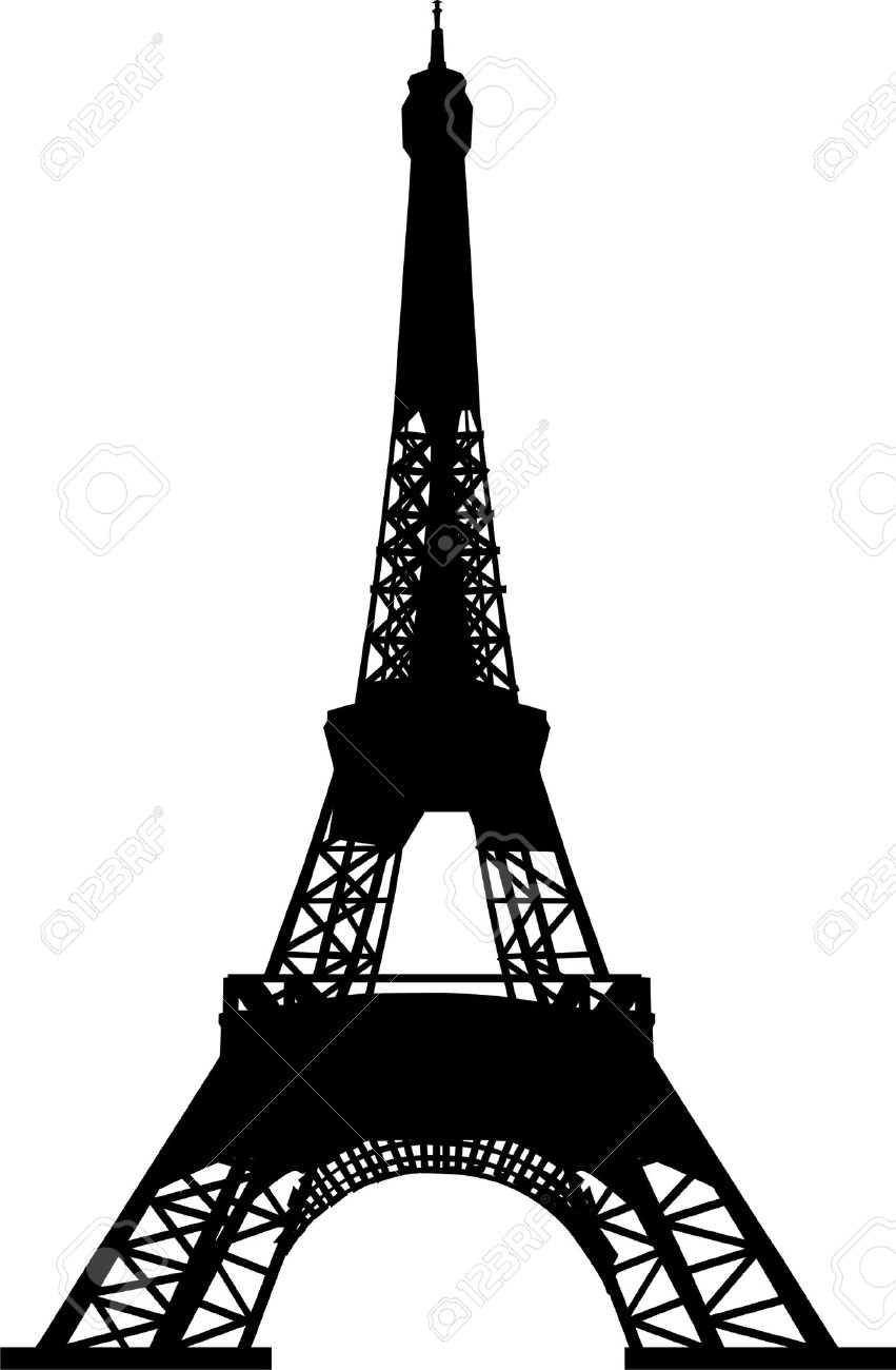 Eiffel tower silhouette royalty free cliparts vectors and stock eiffel tower silhouette thecheapjerseys Gallery