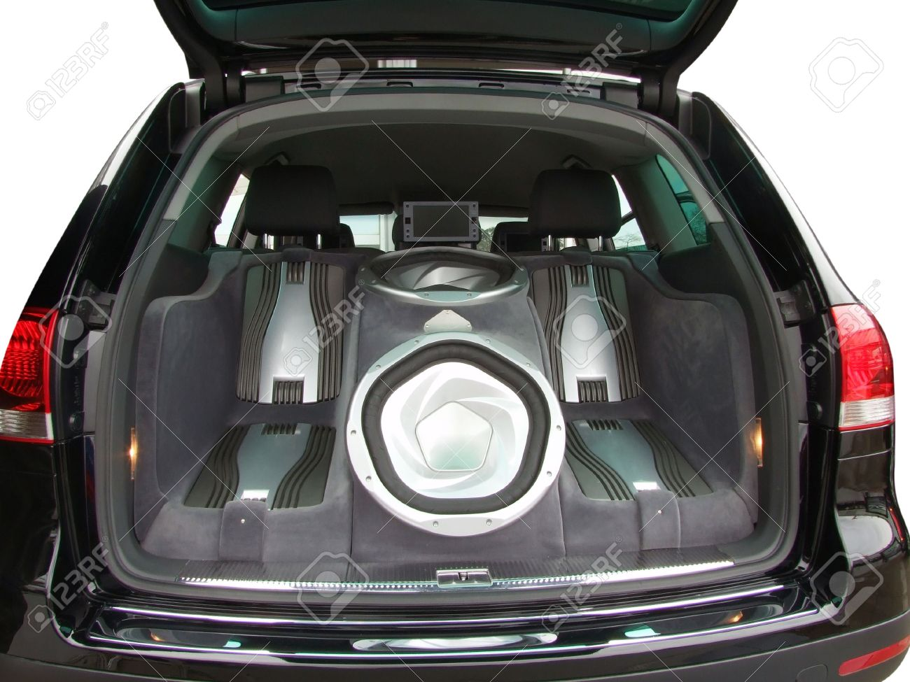 Luxury Car Audio System Stock Photo Picture And Royalty Free Image