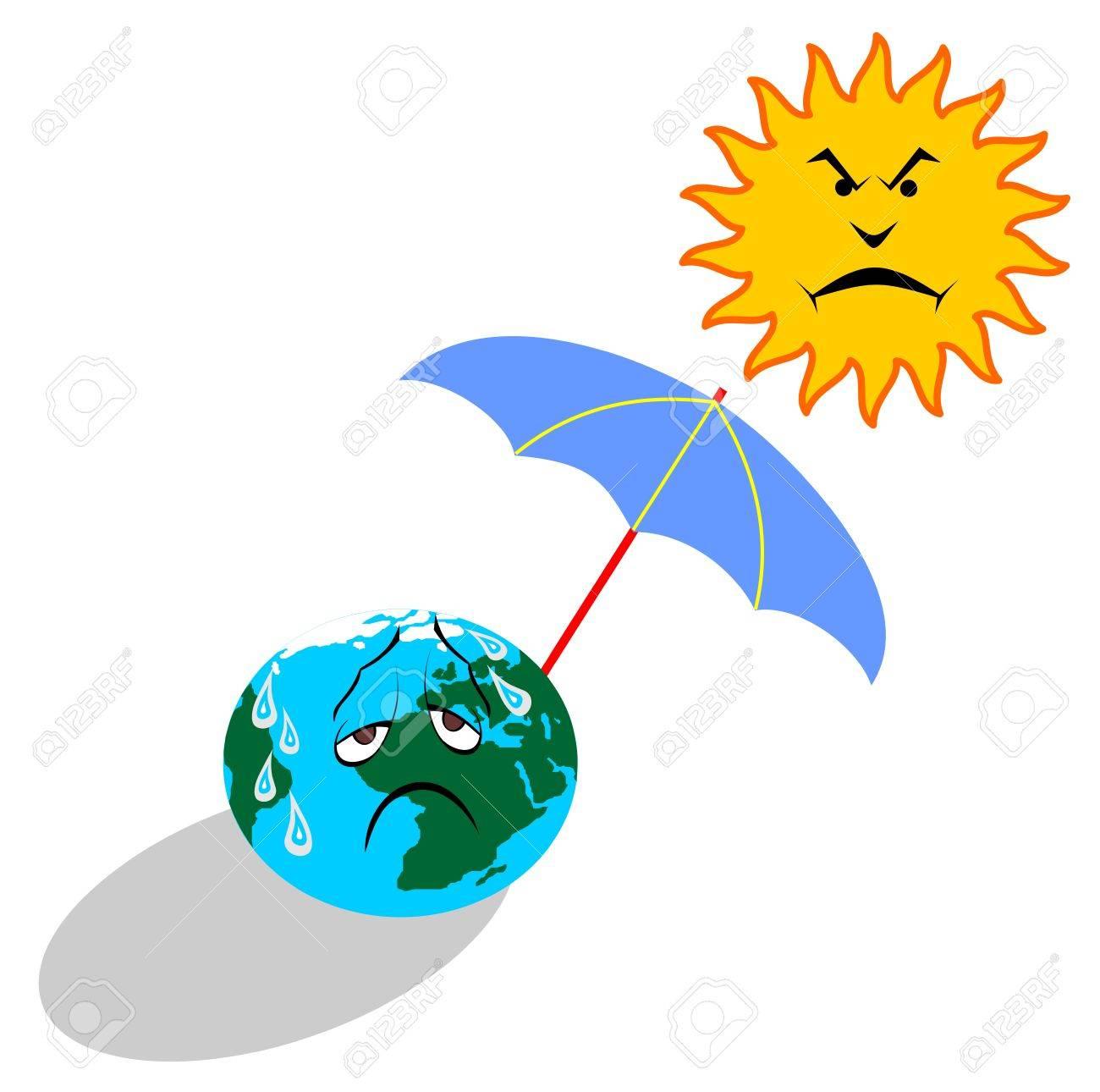 global warming Stock Vector - 5862295