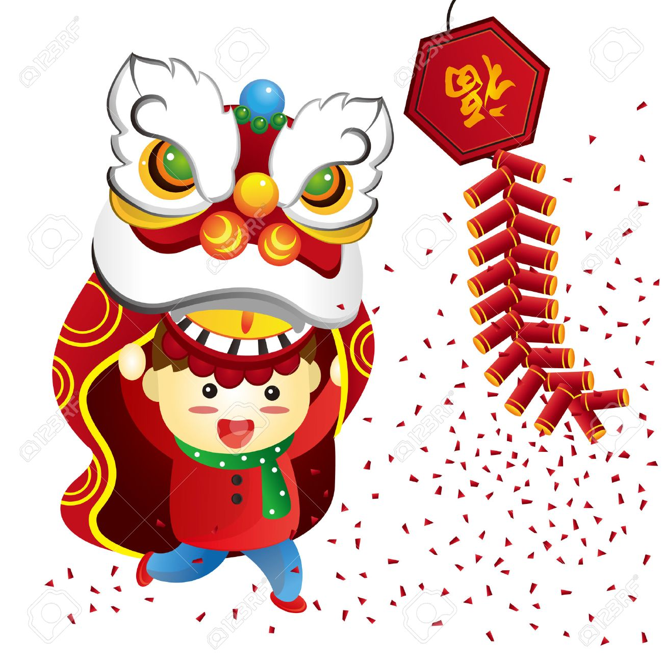 chinese new year royalty free cliparts vectors and stock rh 123rf com free chinese new year clipart images free chinese new year clip art greeting 2017