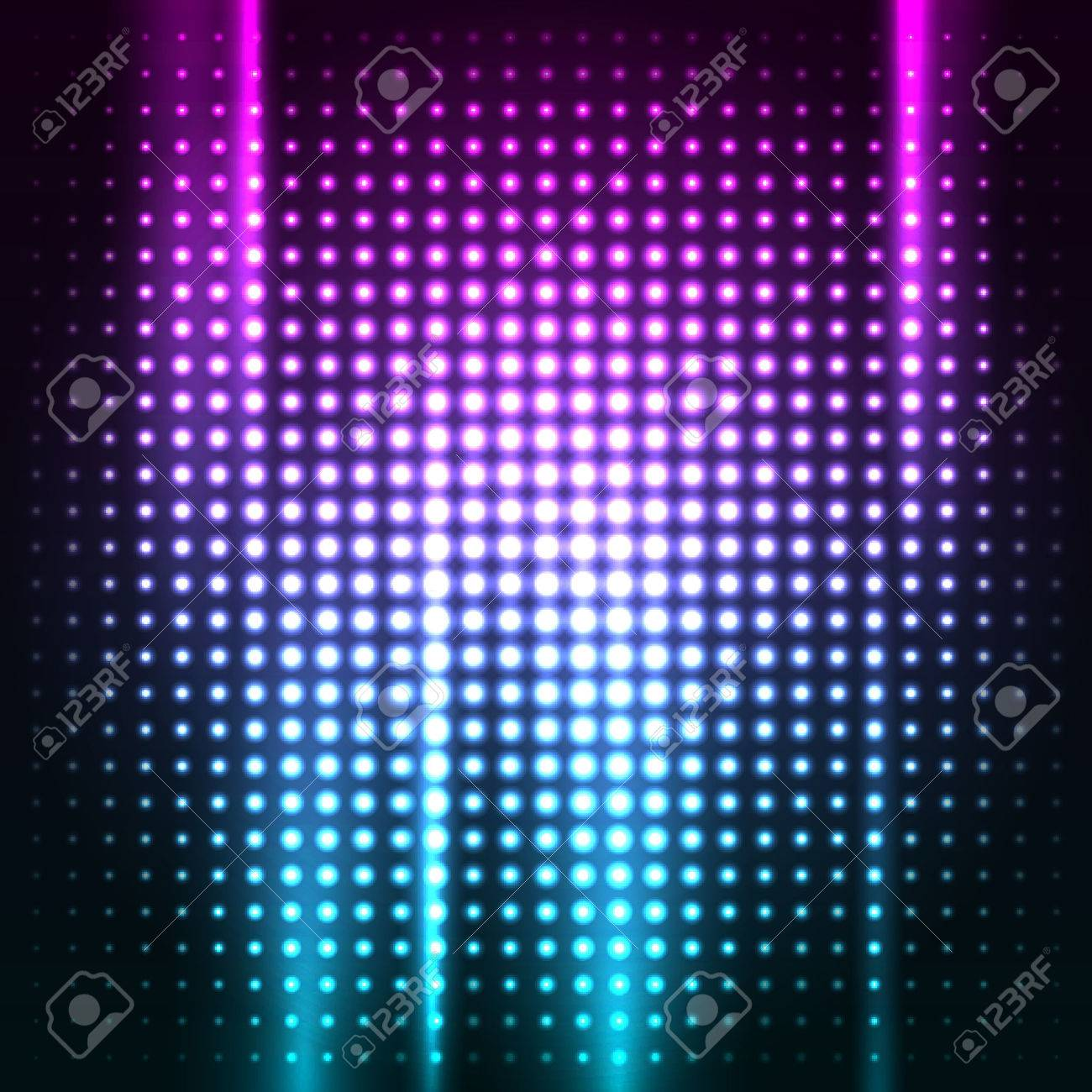 Abstract Colorful Disco Club Background Vector Illustration For