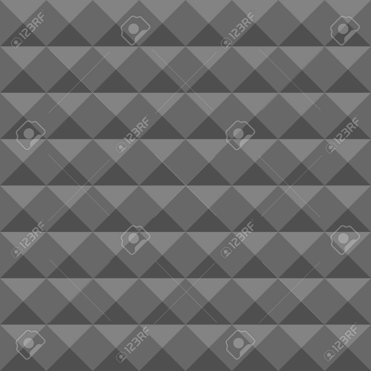 Inredning ljudisolering vägg : Akustisk Skum Vägg, Ljudisolering. Seamless Geometriska Mönster ...