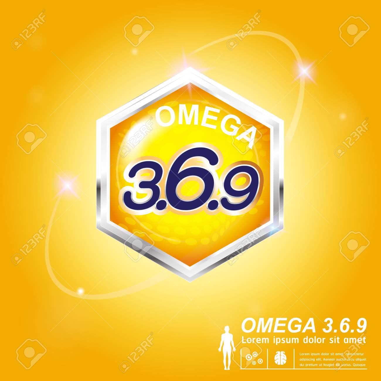 omega nutrition label vector concept royalty free cliparts vectors