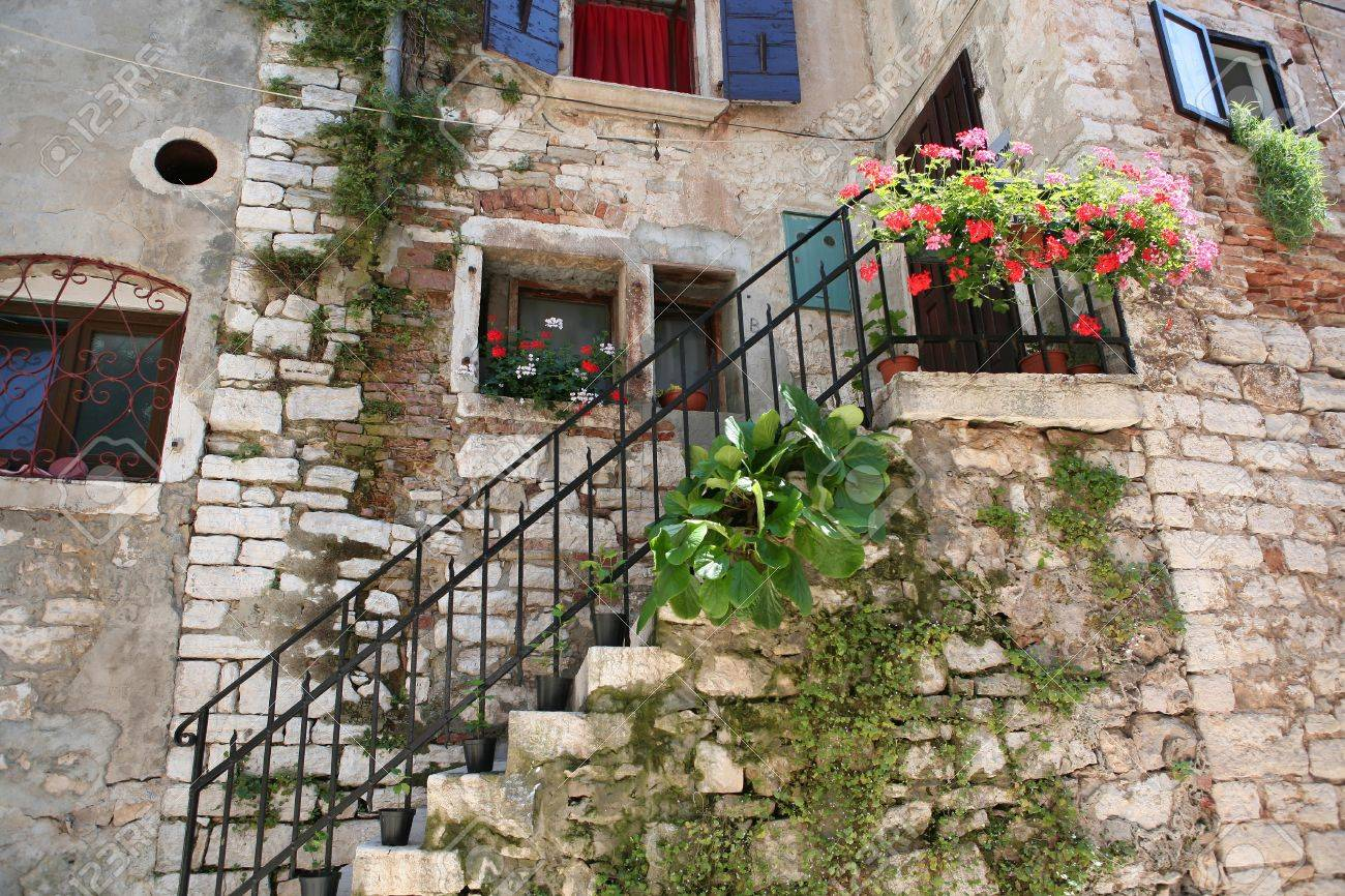 old mediterranean house stock photo picture and royalty free