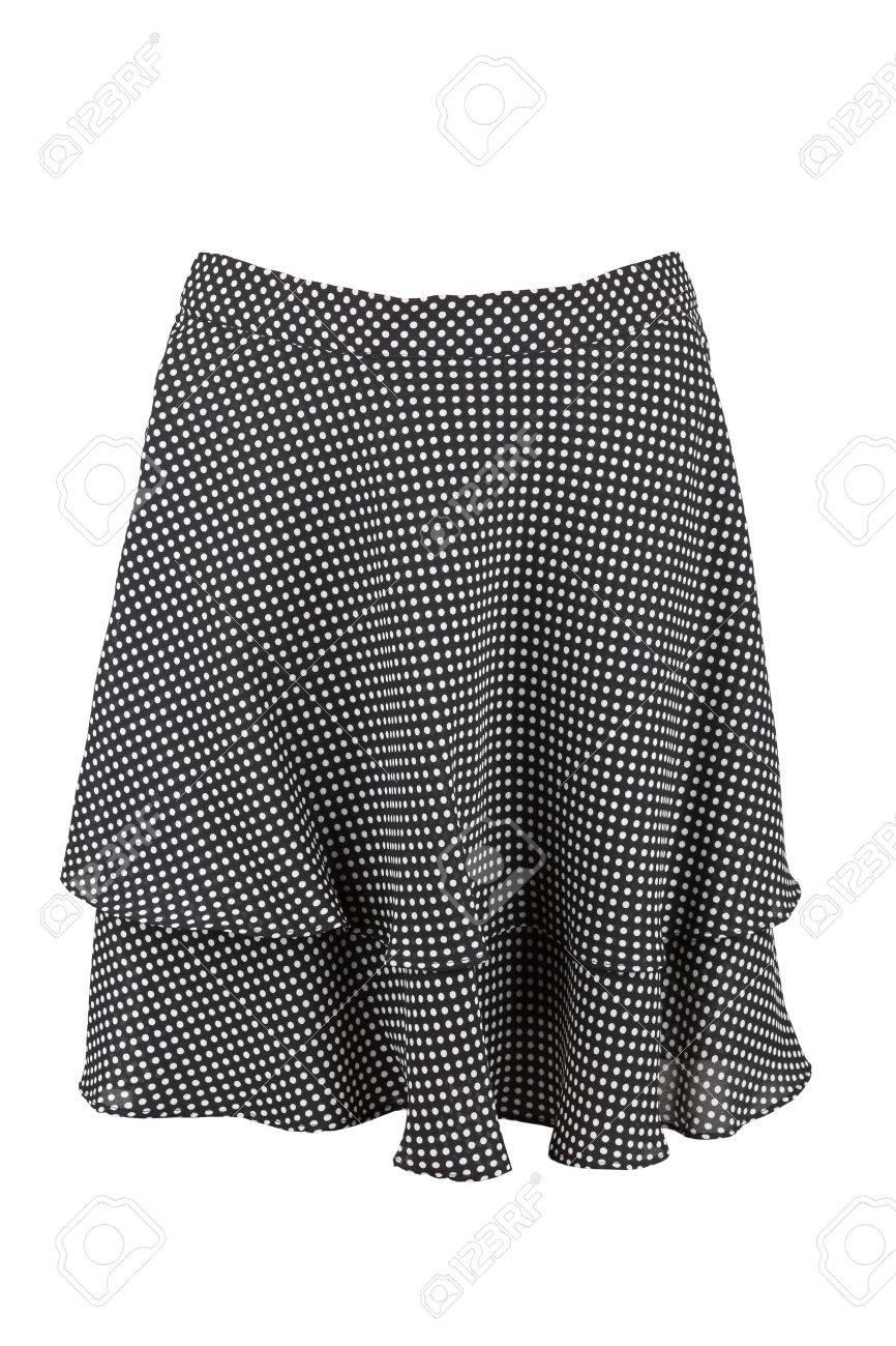 zwarte rok knielengte