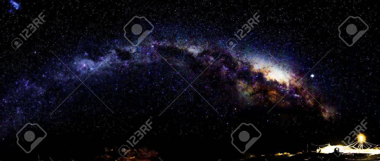 Milky Way in Antarctica Stock Photo - 6231346