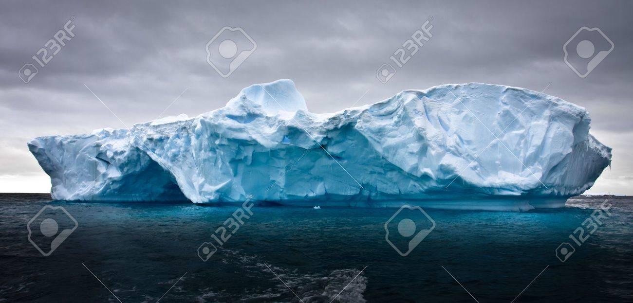 Antarctic iceberg in the snow Stock Photo - 7942418