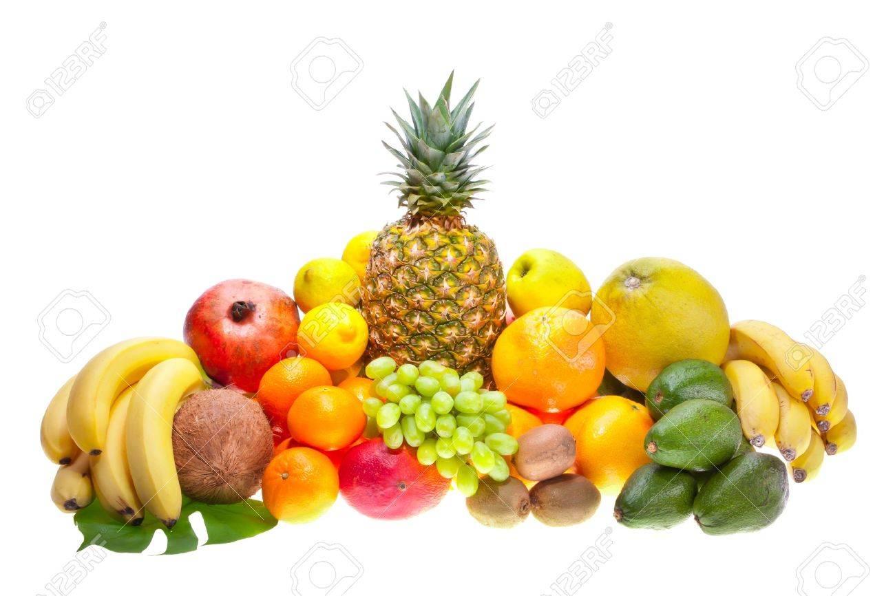 Assortment of fresh fruits - 9798766
