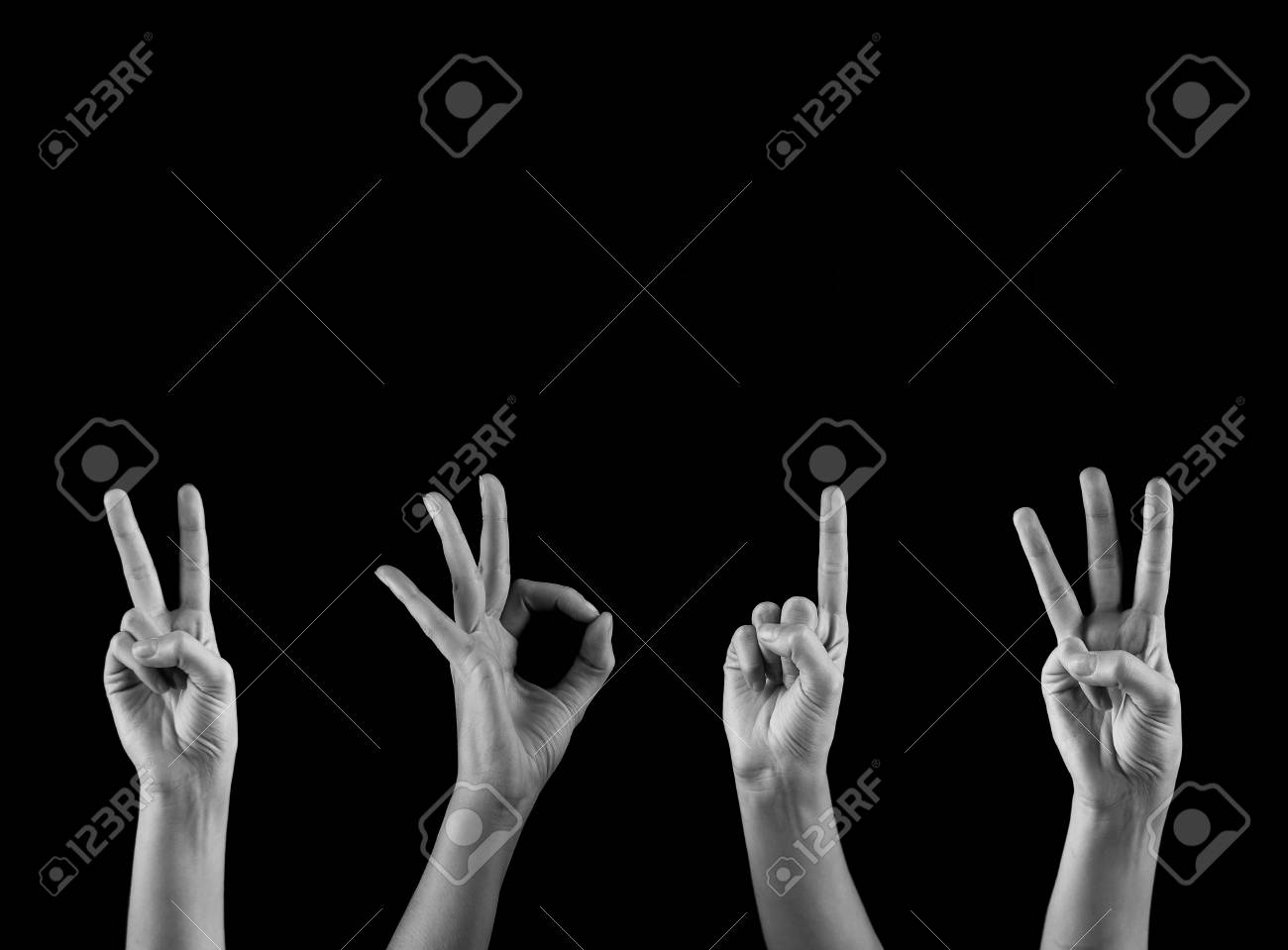 hands forming number 2013 Stock Photo - 16244972