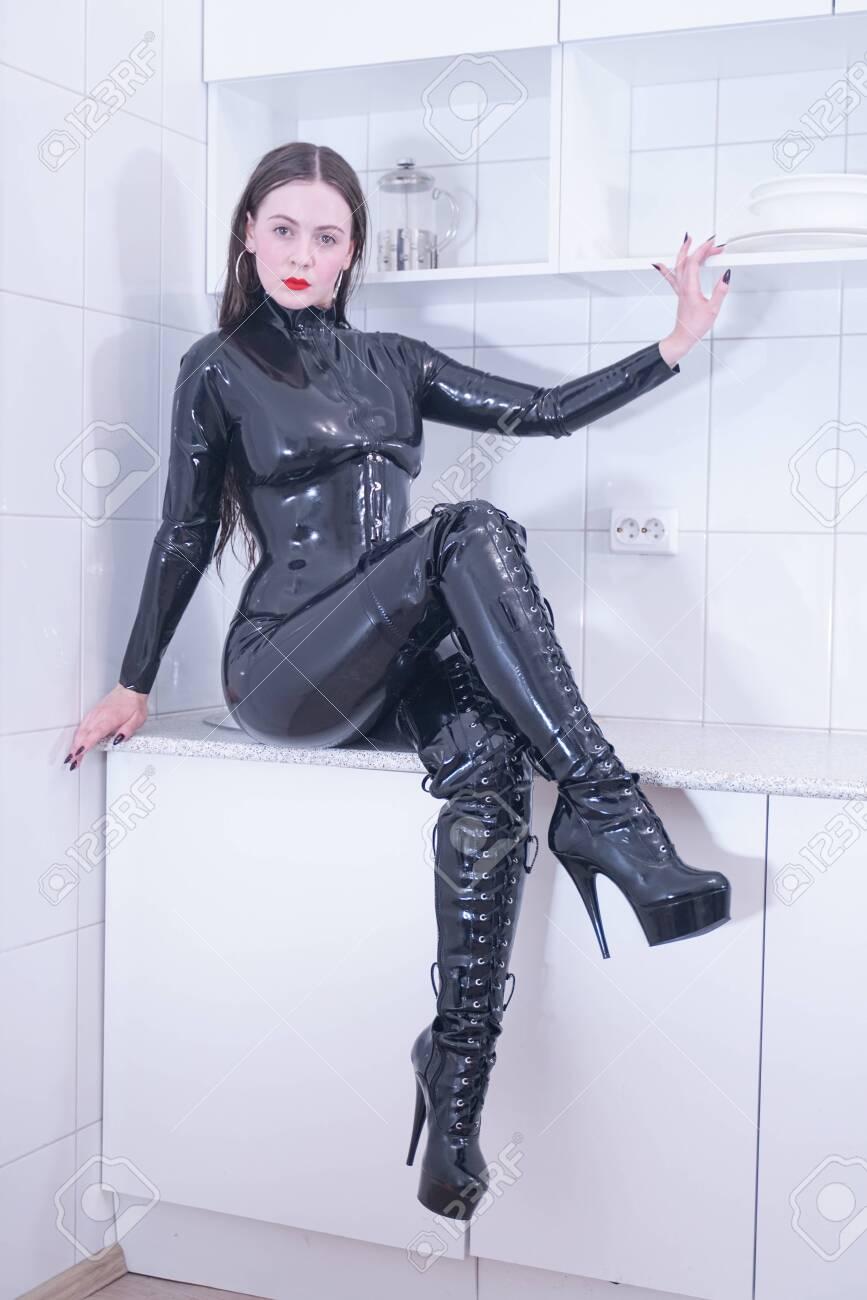 Suit latex Latex Catsuits