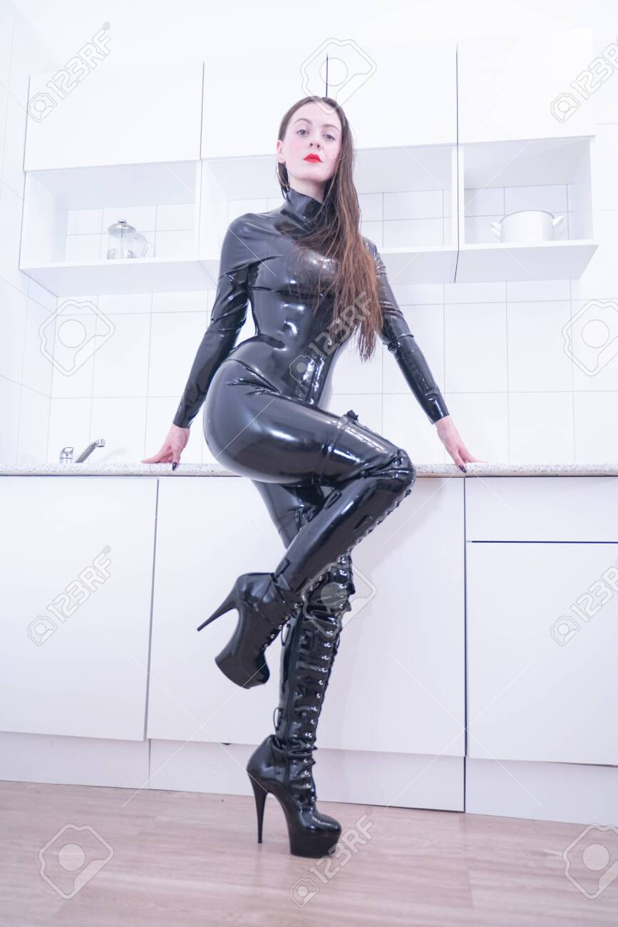 Suit latex The Man