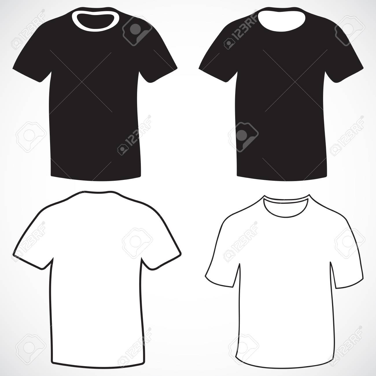Los Hombres Plantilla De Diseño De La Camiseta Ilustraciones ...