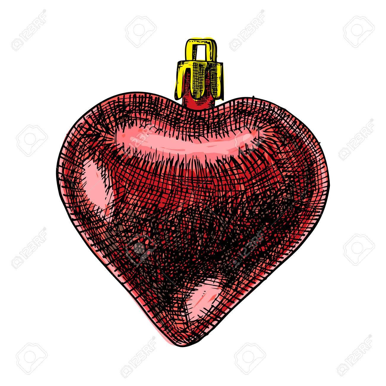 Boule De Noël Rouge Pour Noël Et Nouvel An Arbre Décoration En