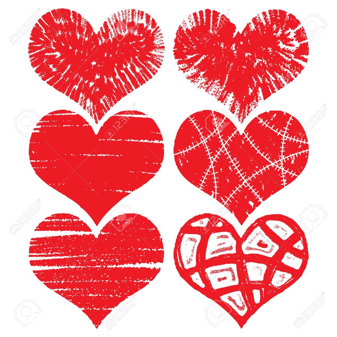 Fein Valentine Herz Zu Färben Zeitgenössisch - Malvorlagen Von ...