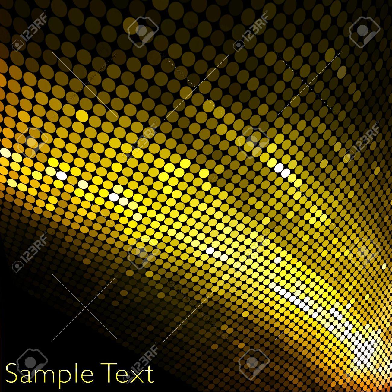 Golden business mosaic.Creative background. Stock Photo - 10720721