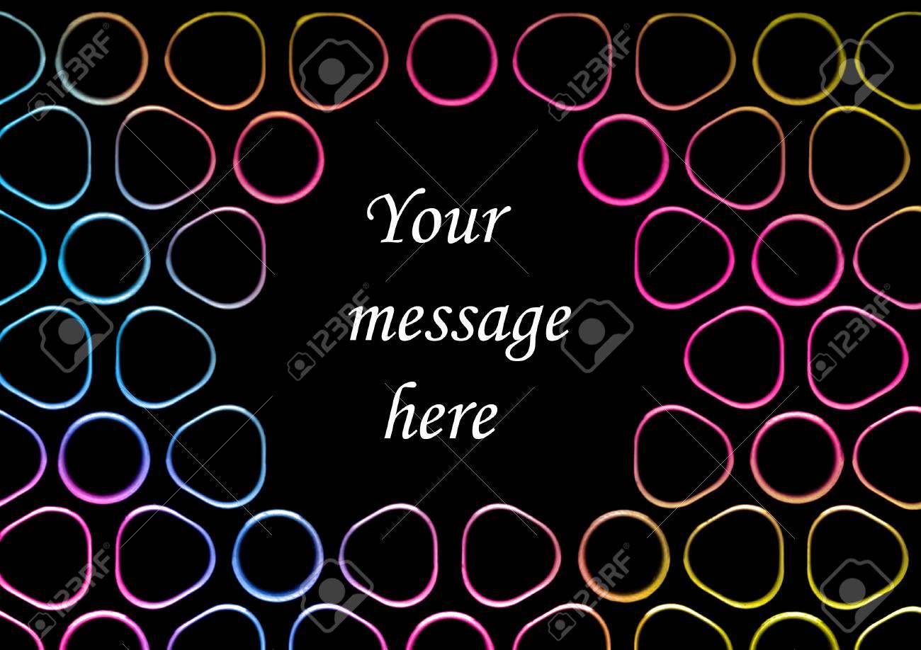Rainbow blobby background Stock Photo - 14569820