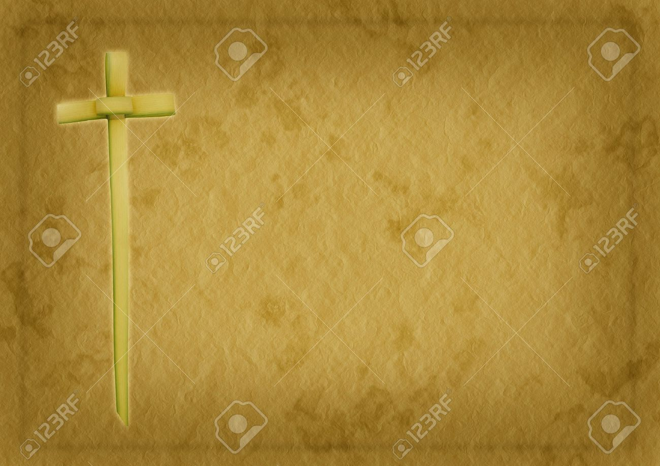 palm sunday or easter religious christian background stock photo