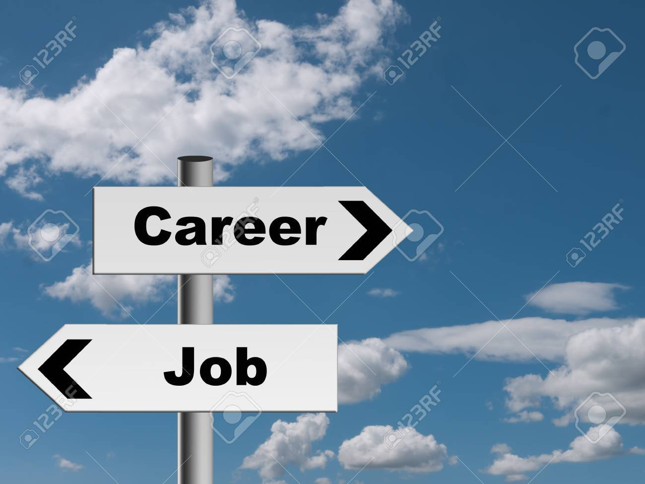 career or job decision choice metaphor sign stock photo picture career or job decision choice metaphor sign stock photo 19683374