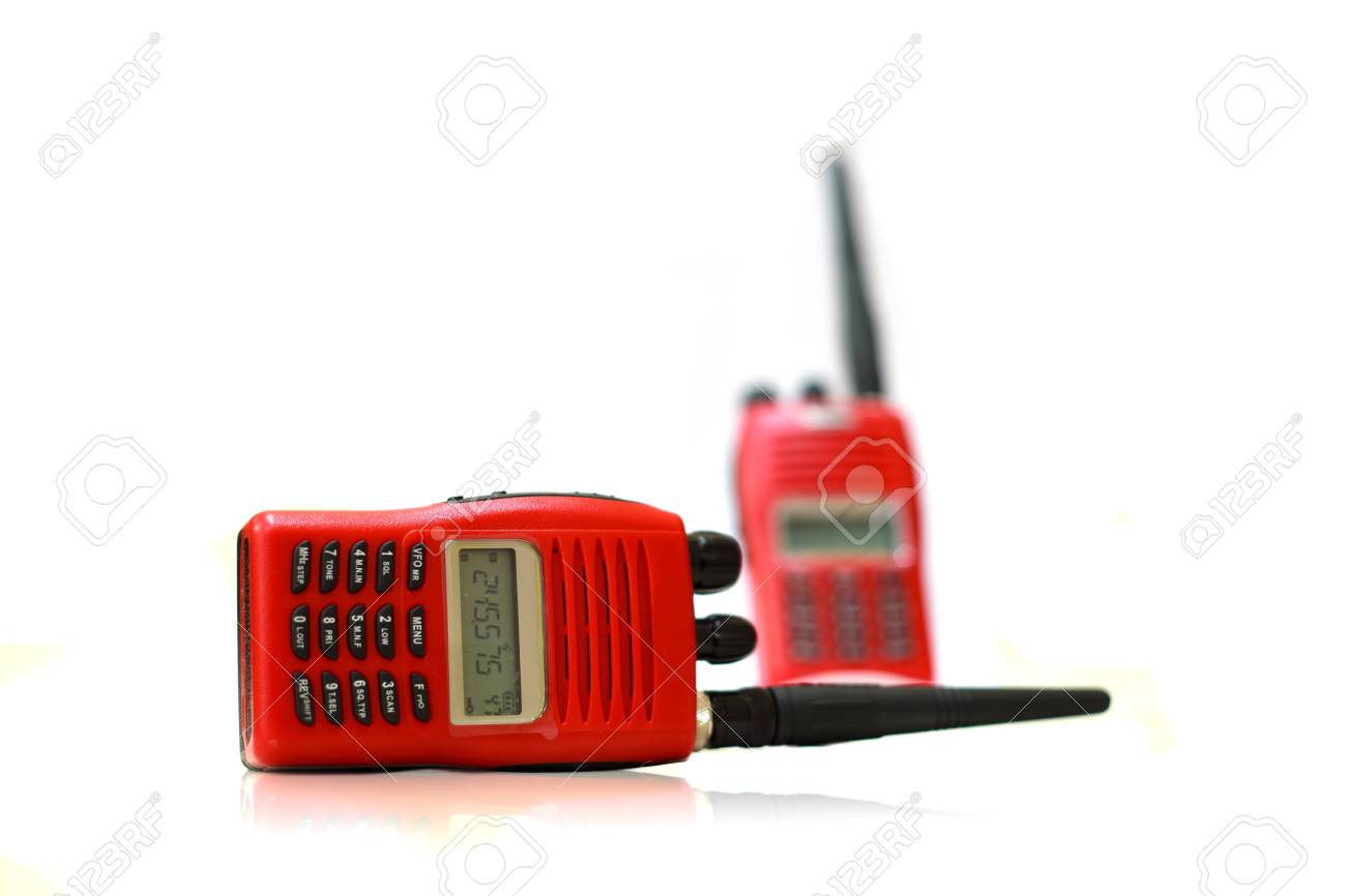 Radio communication Stock Photo - 17545707