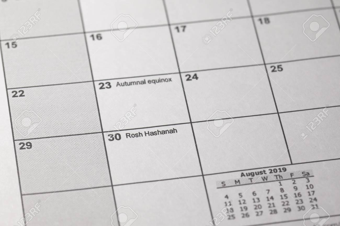 September 28 2019 Jewish Calendar Hebcal Jewish Calendar. Rosh Hashanah 2019 Beginning September