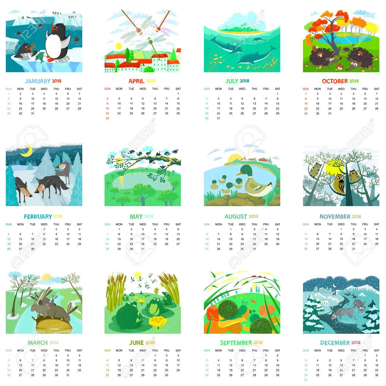 Lujoso Páginas Mensuales Para Colorear Composición - Dibujos Para ...