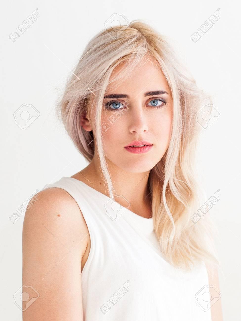 bianco ragazza nudo foto