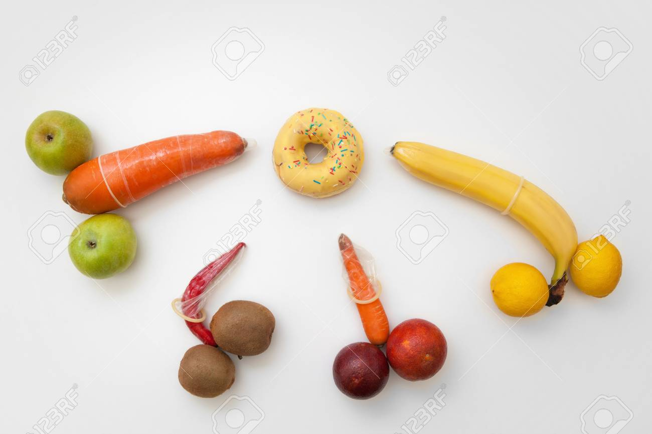 Image result for fruits shaped like vagina and condoms